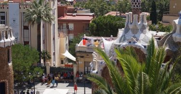 wijk in barcelona
