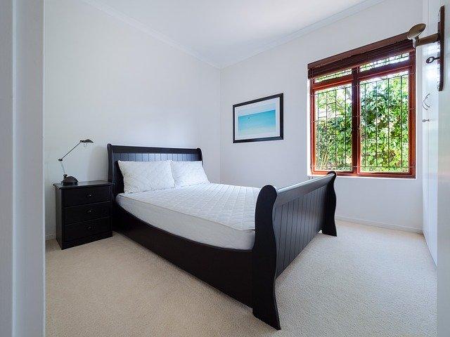 slaapkamer met raam