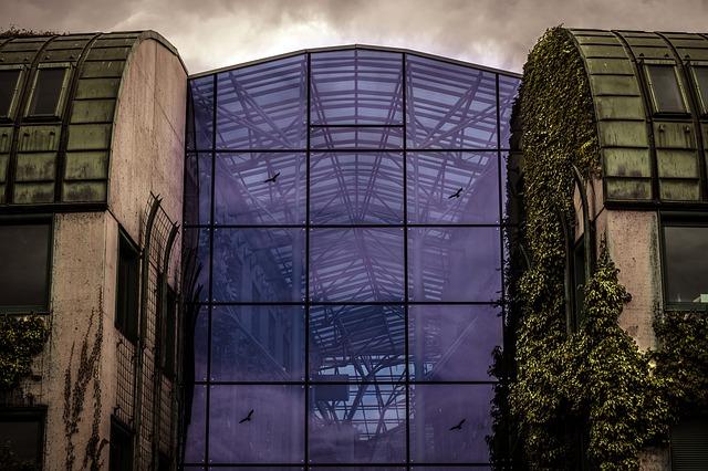glazen constructie