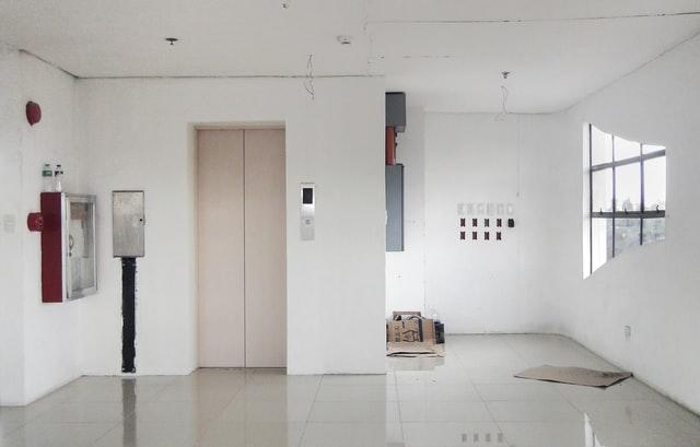 liftdeuren in hal