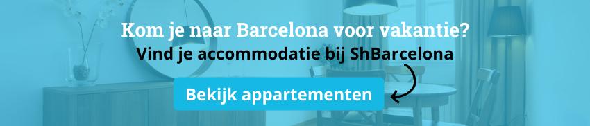 toeristische appartementen in barcelona