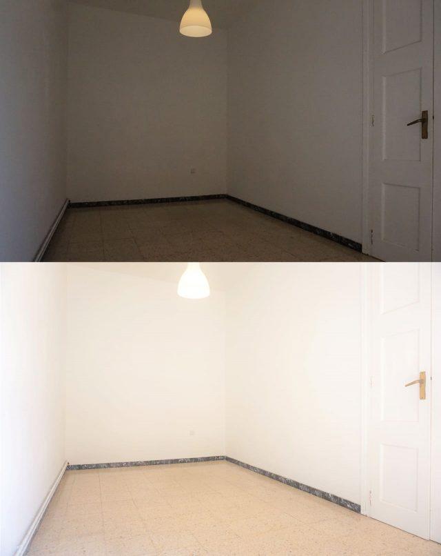 goed licht in appartement