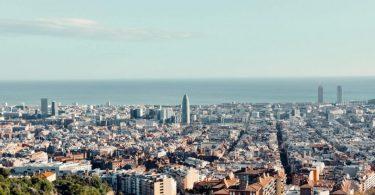 uitzicht over barcelona