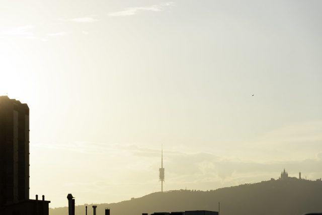 uitzicht op Tibidabo
