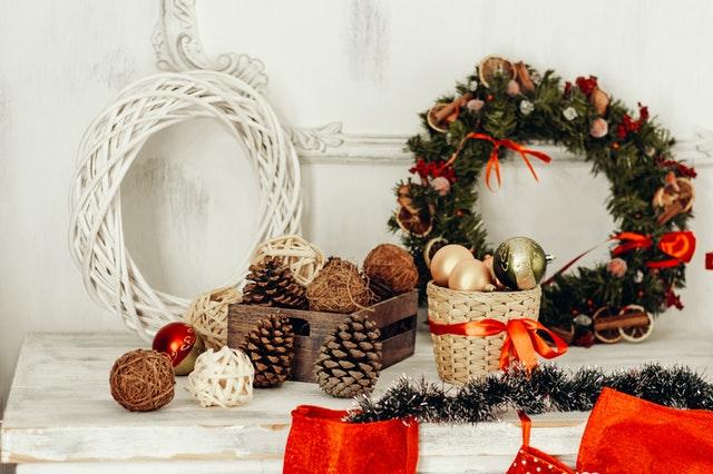 kerstdecoraties voor in huis - kransen