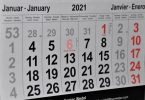 kalendermaand januari