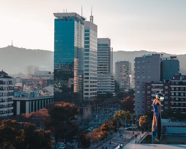 straatbeeld barcelona