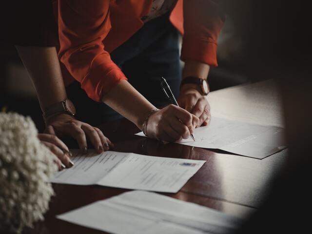 tekenen van huurcontract