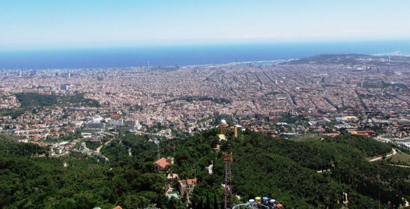 zona alta in barcelona