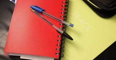 schriften en pennen