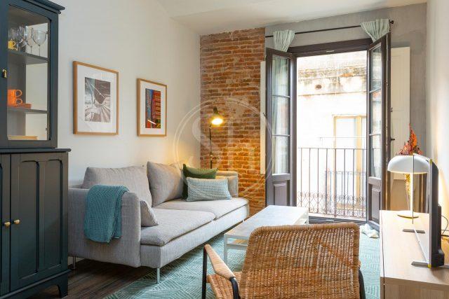 ingericht appartement met balkon