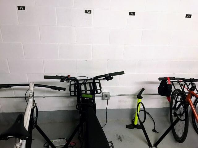 fietsen in stalling